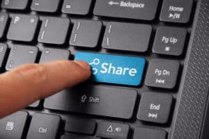 Let people share your content creation