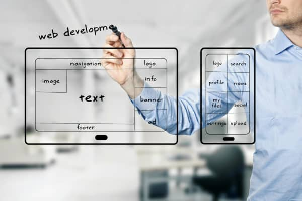 work with a good website development company in cantonment fl