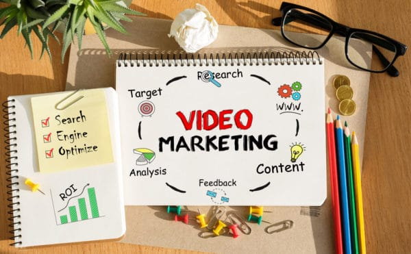 Video Marketing on a Notebook