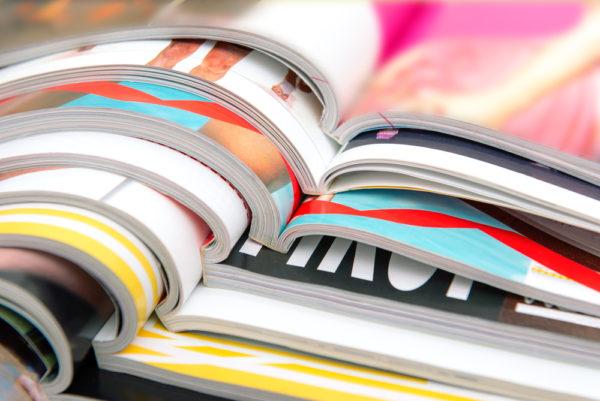 Print advertising for offline marketing