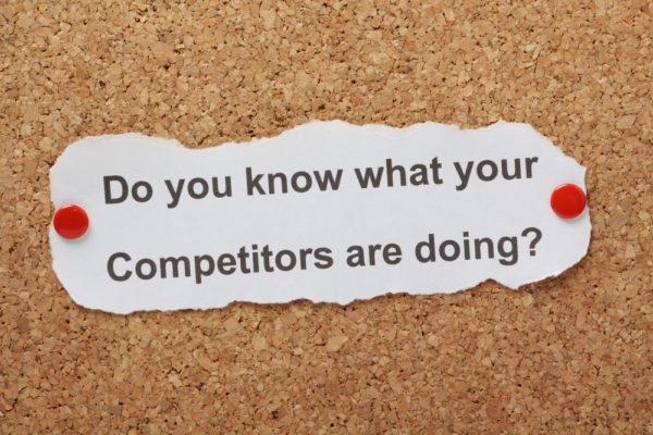 Look at your competitors while doing keyword research