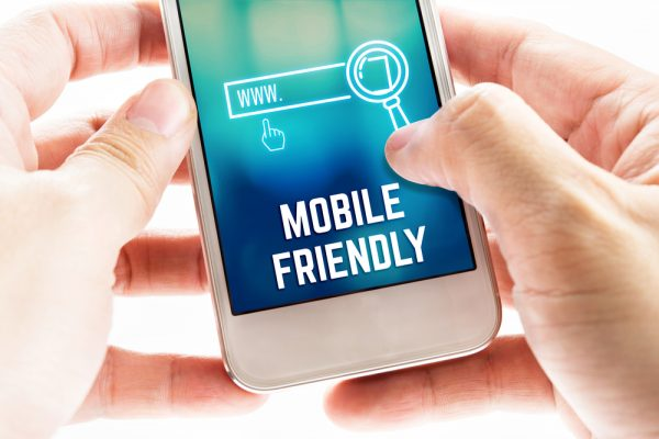 redevelop your website to make it mobile friendly