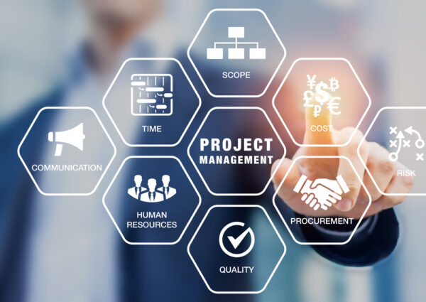 Project management for marketing team
